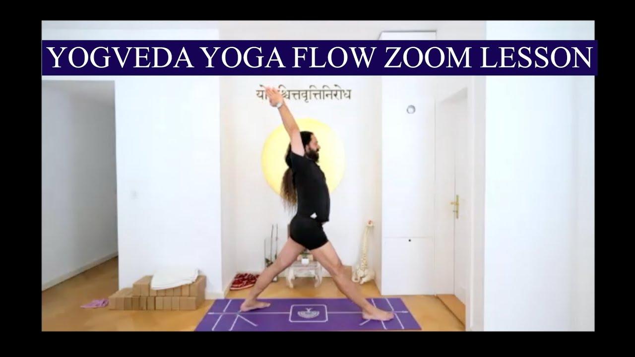 Yogveda Yoga Flow Zoom Lesson