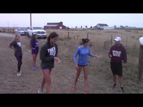West Texas A&M Cross Country Workout Wednesday October 12, 2016
