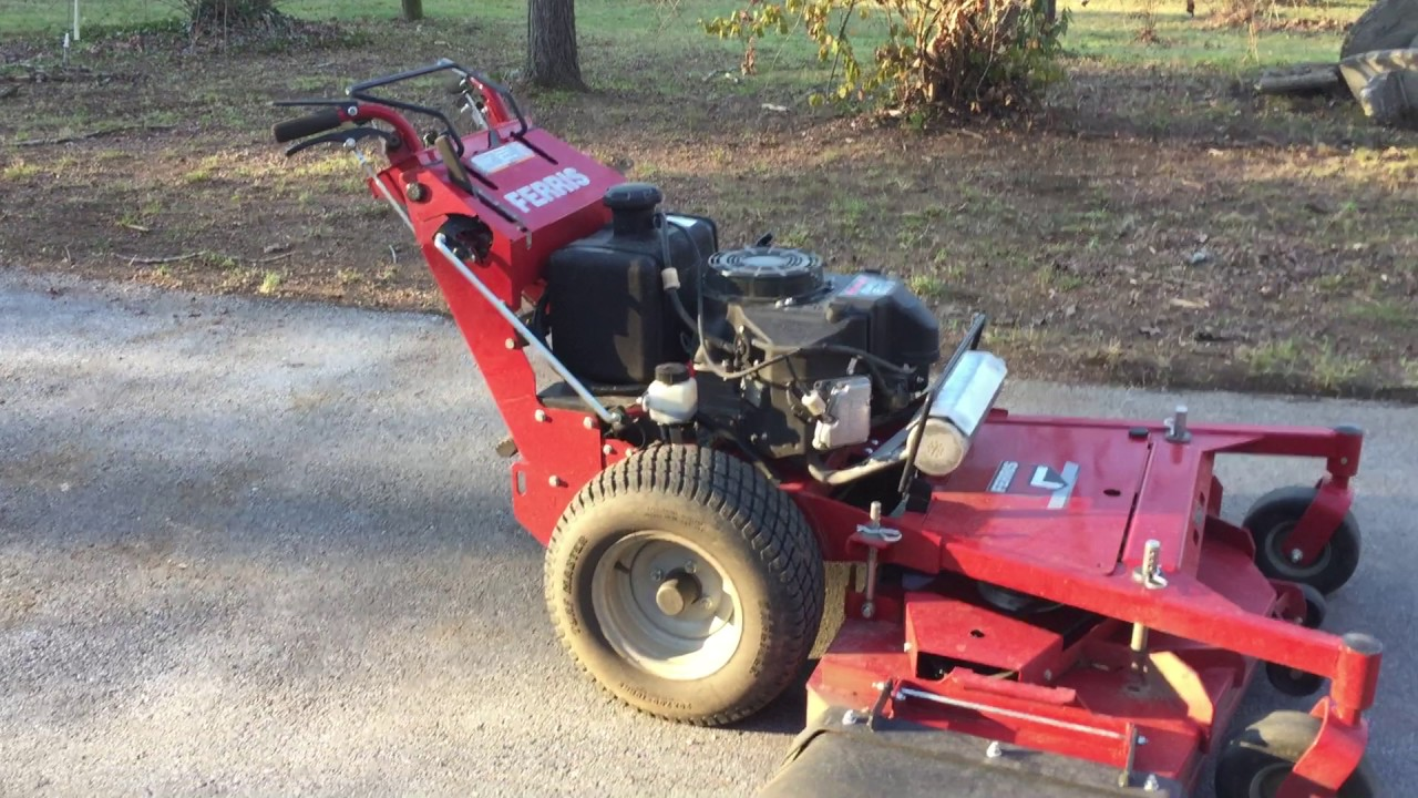 Mowing On The Side #4: Ferris FW25 52