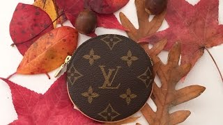 LV Round Coin Purse Review - 2015