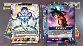 DRAGON BALL SUPER CARD GAME Tutorial movie①