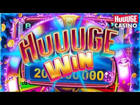Huuuge Casino - Huuuge Diamonds Wins Landscape EN