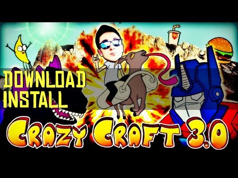CRAZY CRAFT 3.0 MODPACK 1.7.10 minecraft - how to download and install Crazy Craft 3.0 modpack