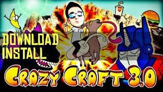 CRAZY CRAFT 3.0 MODPACK 1.7.10 minecraft - how to download and install