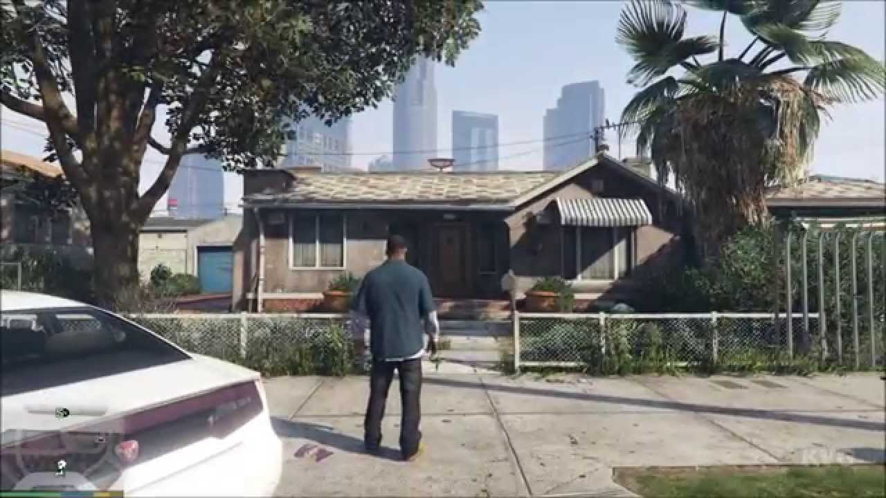 Grand Theft Auto 5 - Franklin's House - Clinton Residence ...