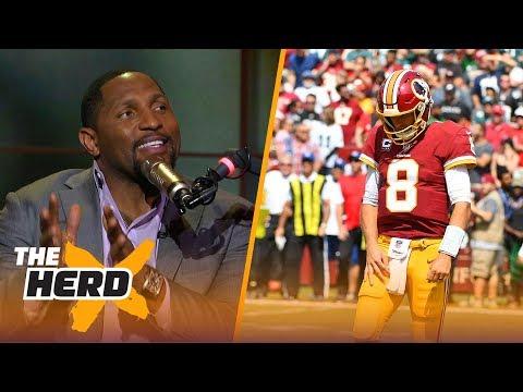 Ray Lewis on Kirk Cousins, Talks NFL prospects Minkah Fitzpatrick and Josh Allen | THE HERD