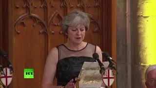 failzoom.com - FB LIVE: May addresses Lord Mayor's dinner & slams Russia