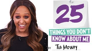 Tia Mowry 25 things You Don't Know About Me