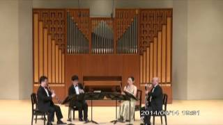"G.Rossini  ""SONATA Ⅳ B-Dur"" Ⅰ. Allegro vivace  /   Clarinet Quartet Ensemble Sonorité"
