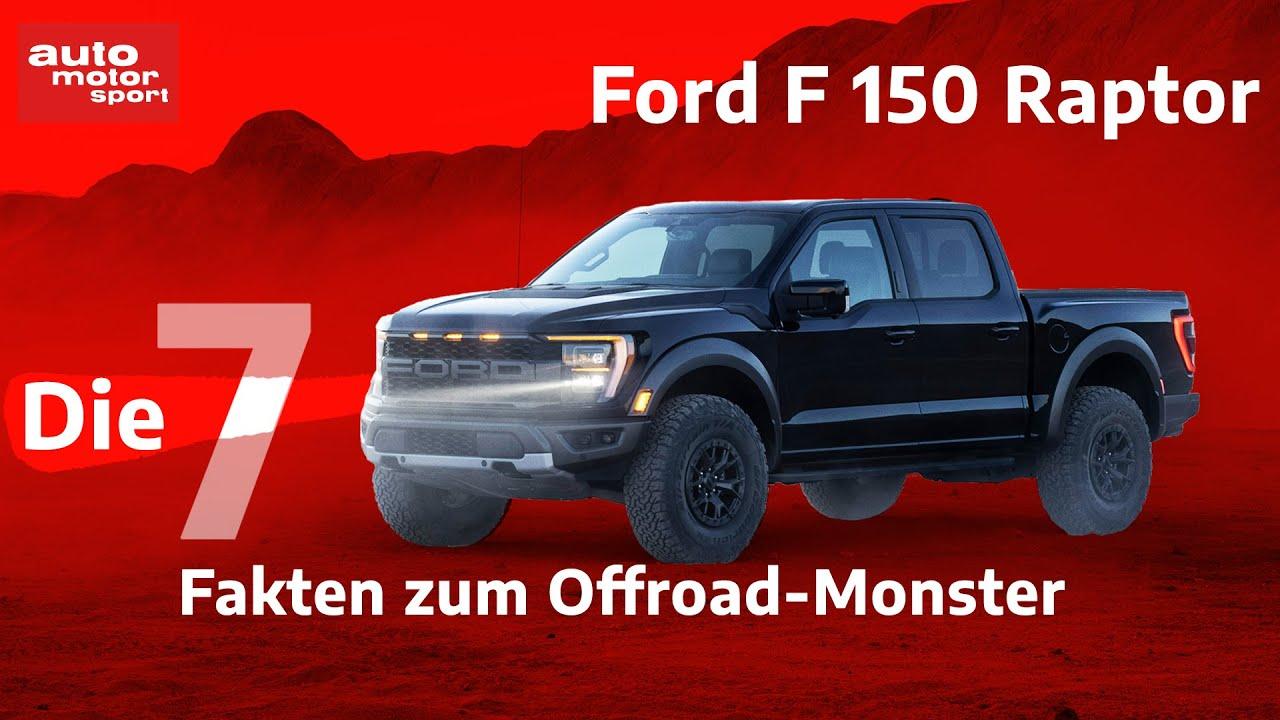 Normal, slippery, sport, tow/haul, off road, baja and rock crawl. Ford F 150 Raptor 7 Fakten Die Offroad Fans Uber Den Wustenkonig Wissen Mussen Auto Motor Sport Youtube