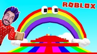 Roblox: REGENBOGEN HOW OFTEN WILL KAAN DIE IN THE OBBY! Rainbow Obby English