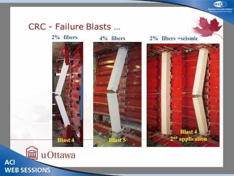 Blast Behaviour of Ultra-High-Strength CRC Columns