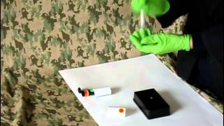 Field Forensics IDEX™-003 Explosives Material Detection (Urea Nitrate)