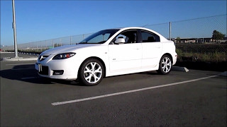 2007 high mileage Mazda3 Walk around review 200,000 miles 0-60 reliability