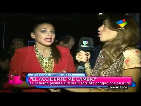 Barbie Vélez: El accidente me cambió
