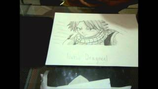 Drawing of Natsu Dragneel from Fairy Tail/ ナツ・ドラグニル/Natsu Doraguniru