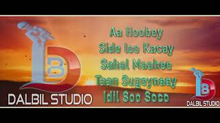 "Tijaabi Codkaaga By | idil Soo Soco | somali karaoke lyrics | ""2018"" ® Dalbil Studio"