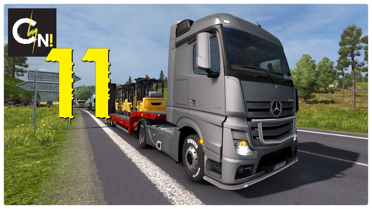 Euro Truck Simulator 2 Carriere Fr 11 Nouveaux Mods Youtube