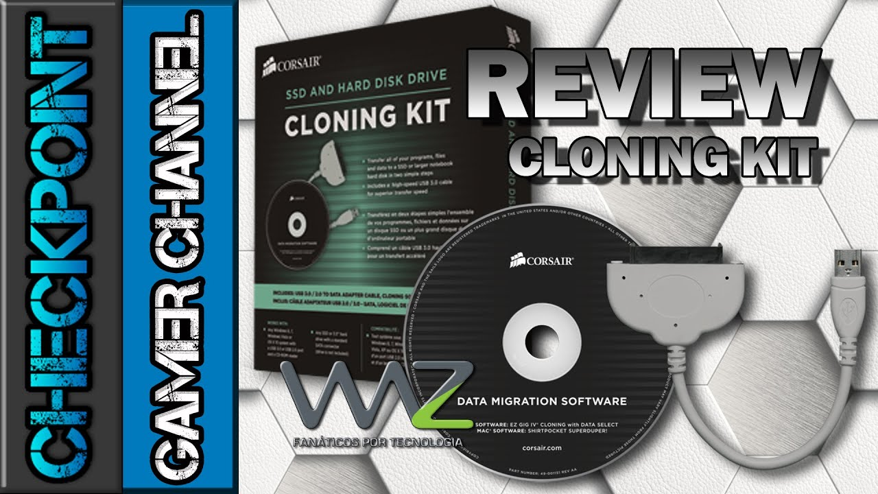 Clone Kit Corsair Cloning Kit Review And Unboxing Pt Br Youtube