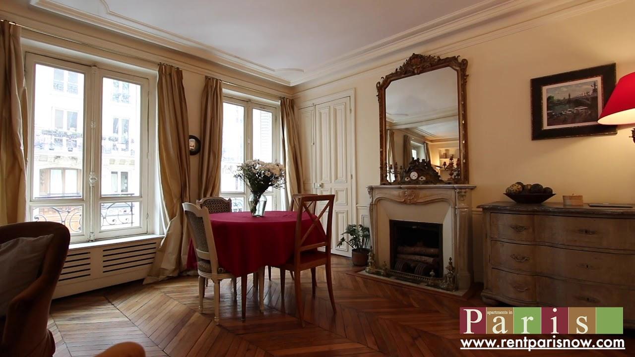 prestigious Île Saint Louis 2-bedroom apartment - YouTube