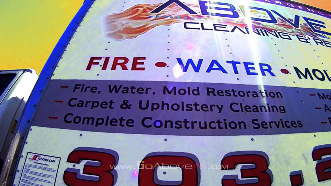 Above All Cleaning And Restoration Goaboveall