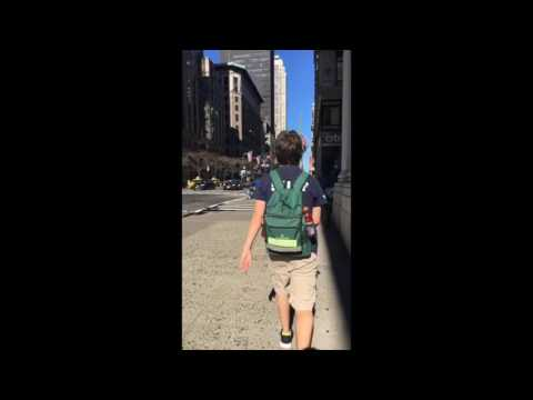 Exploring NYC - Buddy the Elf style