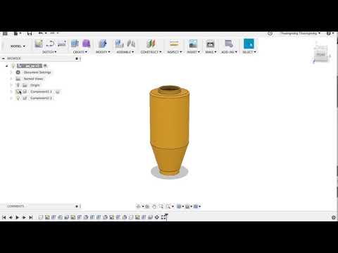 [3D printed] In 3D pô xe máy (thiết kế và in )- Part 1