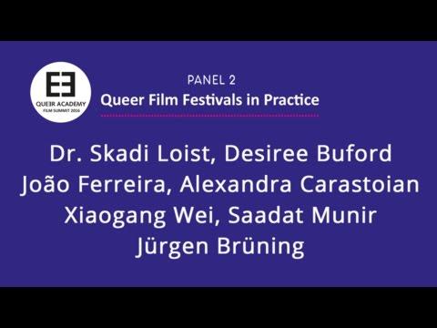 QA Summit 2016 - Panel 2: QUEER FESTVALS IN PRACTICE