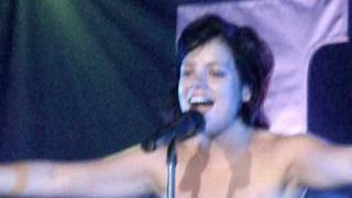 Chinese- Lily Allen (Live 2009 @ TLA) Video