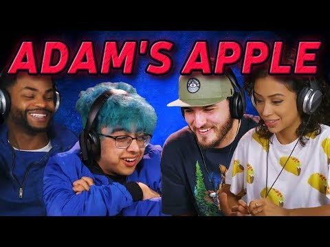 YouTubers React to KSI Adam's Apple ft  Alesa Official Music Video