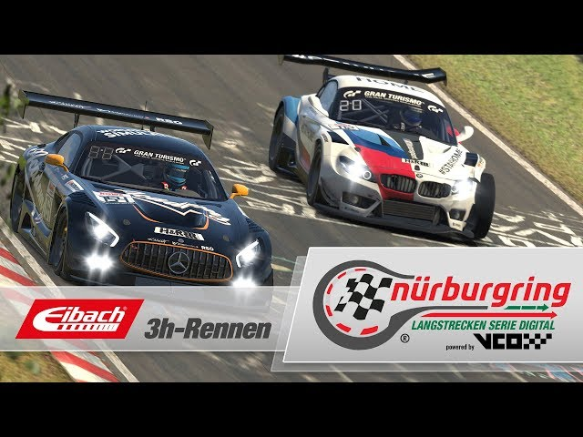 Eibach 3h-Rennen – Digitale Nürburgring Langstrecken-Serie powered by VCO