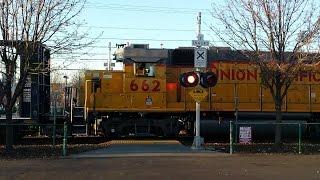 Union Pacific Folsom Turn Local, Zinfandel Station Pedestrian Crossing