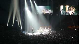 Johnny Hallyday @ Sportpaleis - Rockabilly tribute to Jerry Lee Lewis 08-06-12