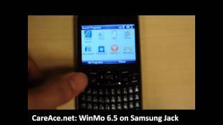 Windows Mobile 6.5 on Samsung Jack (SGH-i637)
