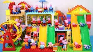Peppa Pig Lego House Toys For Kids - Lego House With Water Slide Creations Toys #4