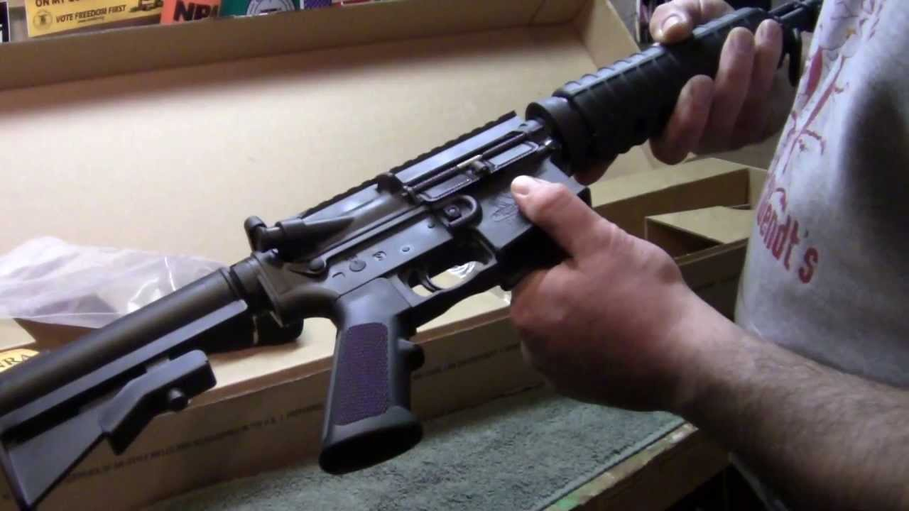 Bushmaster Carbon 15 Unboxing Video $781 AR-15 223 / 5 56