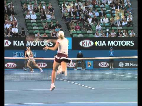 Sharapova v Henin: 2008 Australian Open Women's Final Highlights