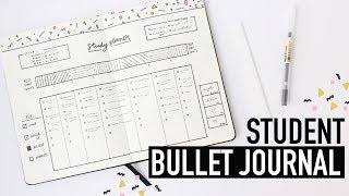 Bullet Journaling FOR STUDENTS ✏️back-to-school spreads for university + college