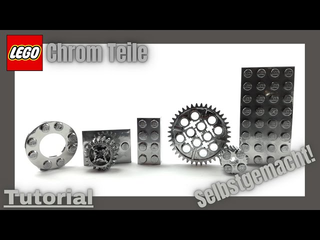 LEGO Teile selbst verchromen!😀 | Tutorial deutsch