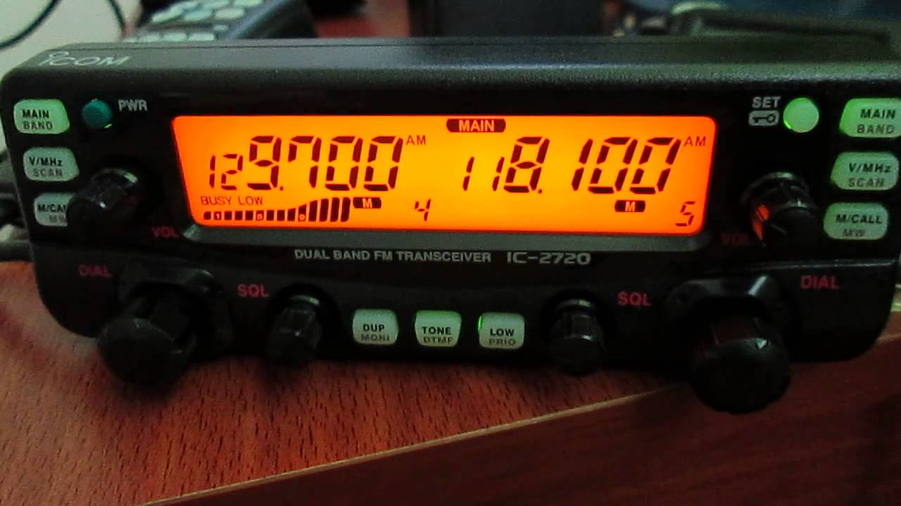 Icom IC-2720H Air Band Santiago de Chile