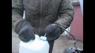 Как слить жидкость из бачка омывателя
