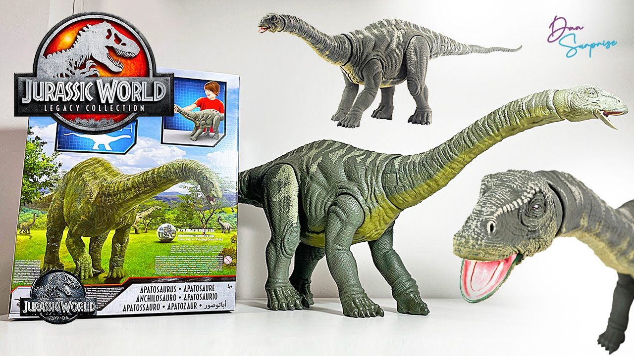 NEW APATOSAURUS JURASSIC WORLD LEGACY COLLECTION IS HERE! Super Colossal Apatosaurus!