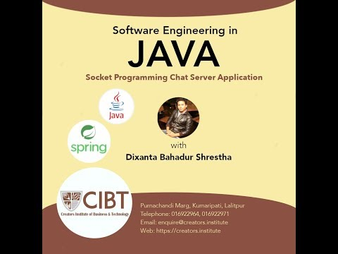 Java Socket Programming Chat Server Complete Application