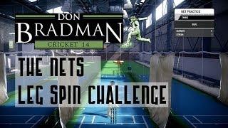 Don Bradman Cricket 14 Nets: The Leg Spin Challenge