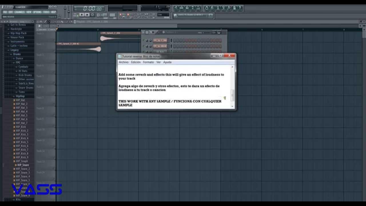How to reverse a sample in FL STUDIO [VASS TUTORIAL] - VideoWan ...