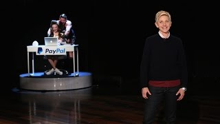 A Live Commercial for PayPal