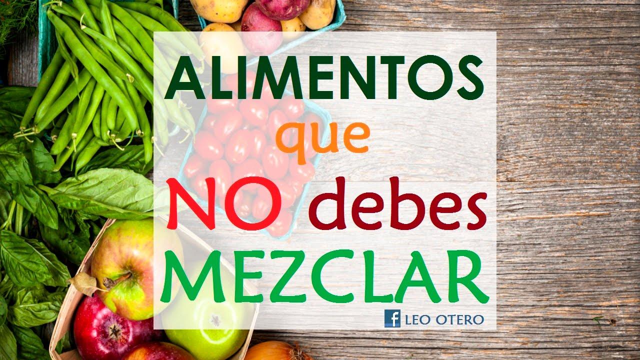 Todo sobre la combinaci n de los alimentos higienismo - Alimentos que bajen la tension ...