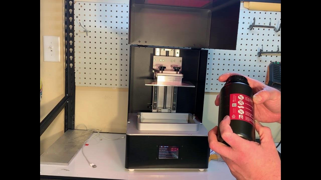 video Phrozen Shuffle XL 3D Printer