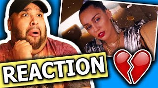 Mark Ronson ft. Miley Cyrus - Nothing Breaks Like a Heart (Official Video) REACTION