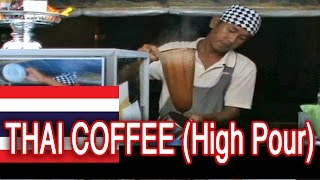 Making Famous Thai Coffee